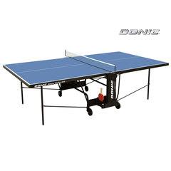 Теннисный стол DONIC INDOOR ROLLER 600 BLUE  с сеткой