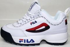 Обувь кроссовки женские Fila Disruptor 2 FW01655-114