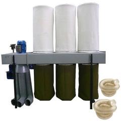 Внутрицеховая система аспирации Консар УВП-5000 + воздуховоды 100 мм, 120 мм