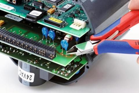 Кусачки-бокорезы для электроники, с зеркальной полировкой, круглая головка 115 мм