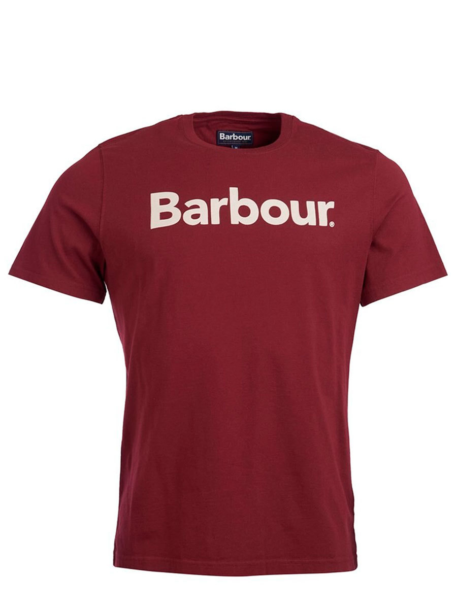 Barbour футболка Logo Tee MTS0531/RE53