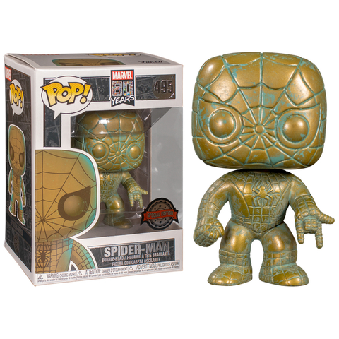 Фигурка Funko POP! Bobble: Marvel: Marvel 80th: Spider-Man (PT) (Exc) 42212