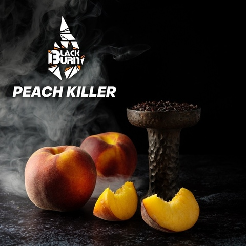 Табак Burn Black Peach Killer (Персик) 100 г