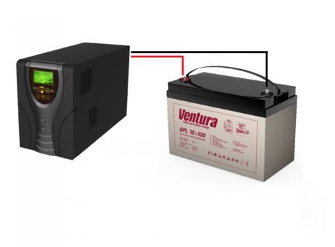 Комплект ИБП ECOVOLT SOLO 1012+VENTURA GPL12-100
