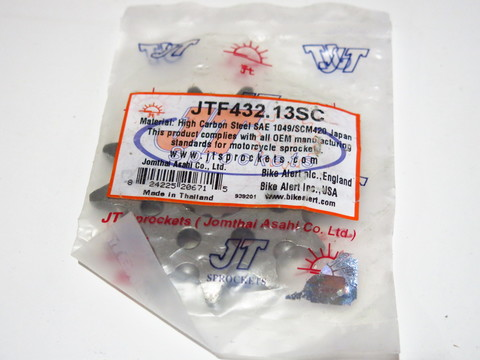 Звезда передняя JT F 432.13SC Suzuki DR RM RMX
