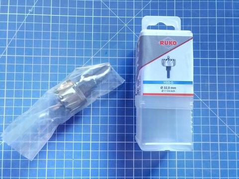Коронка по металлу 32х10мм HSS-G S=10мм Ruko 128032 (В)