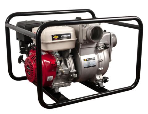 Мотопомпа бензиновая грязевая DDE PTR100H (вых 100мм,HONDA.GX390, напор 26м,1510л/мин,73кг (PTR100H)