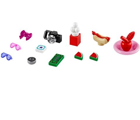 LEGO Friends: Американские горки в парке развлечений 41130 — Amusement Park Roller Coaster — Лего Друзья Продружки Френдз