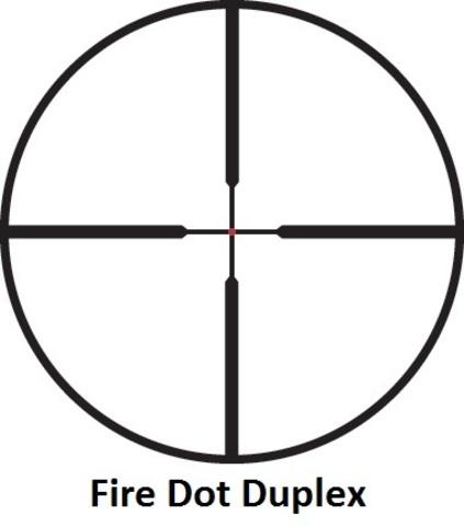 Оптический прицел Leupold VX-R 1.25-4x20 FireDot Duplex c подсветкой, 30 мм (111230)