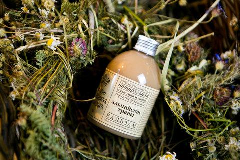 Бальзам для волос Альпийские травы