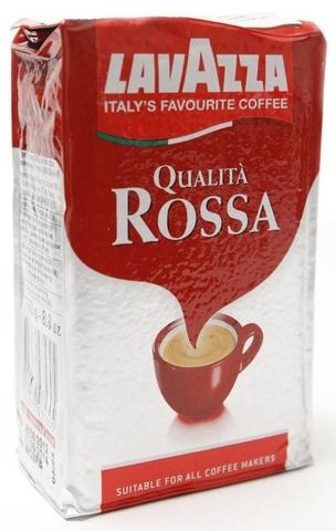 Молотый Lavazza Rosso