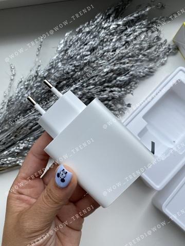 Сетевая зарядка Baseus Mirror Displav 4 USB 30w /white/