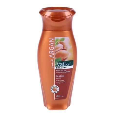Шампунь для волос (VATIKA Argan мягкое увлажнение ) 400мл