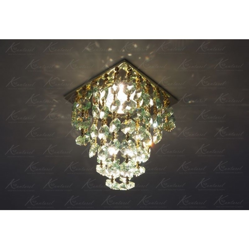 Встраиваемый светильник Kantarel Grape CD 020.3.2 lt peridot