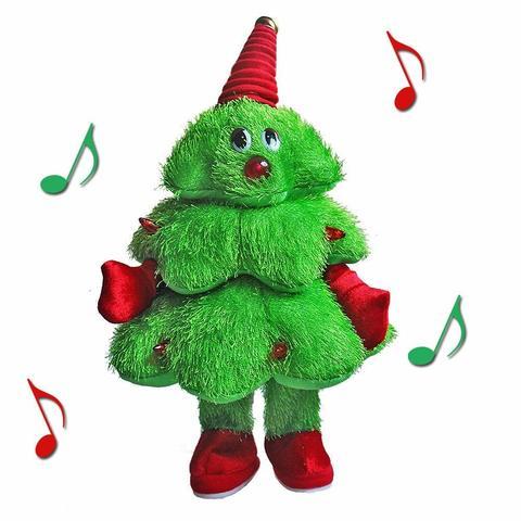 Танцующая новогодняя ёлка