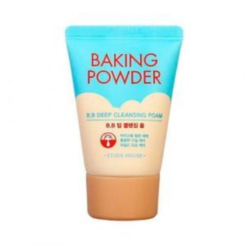 Очищающая пенка для снятия BB-крема travel-size Etude House Baking Powder B.B Deep Cleansing Foam travel-size 30 мл