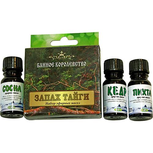 Набор эфирных масел Запах тайги