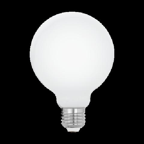 Светодиодная лампа G80 8W E27 (теплый свет) 11598