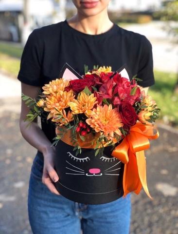 Цветы в коробке#16298