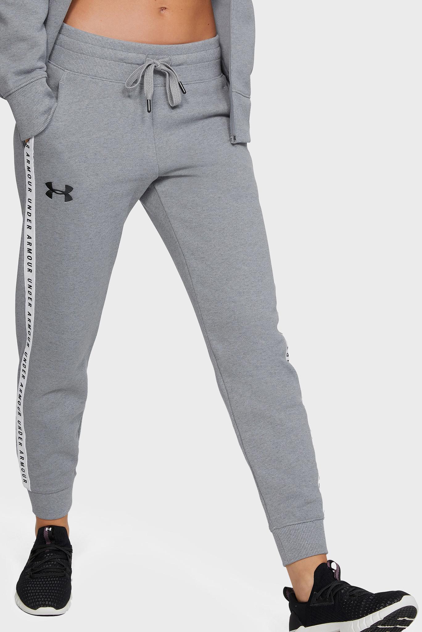 Женские серые спортивные брюки ORIGINATORS FLEECE JOGGER Under Armour