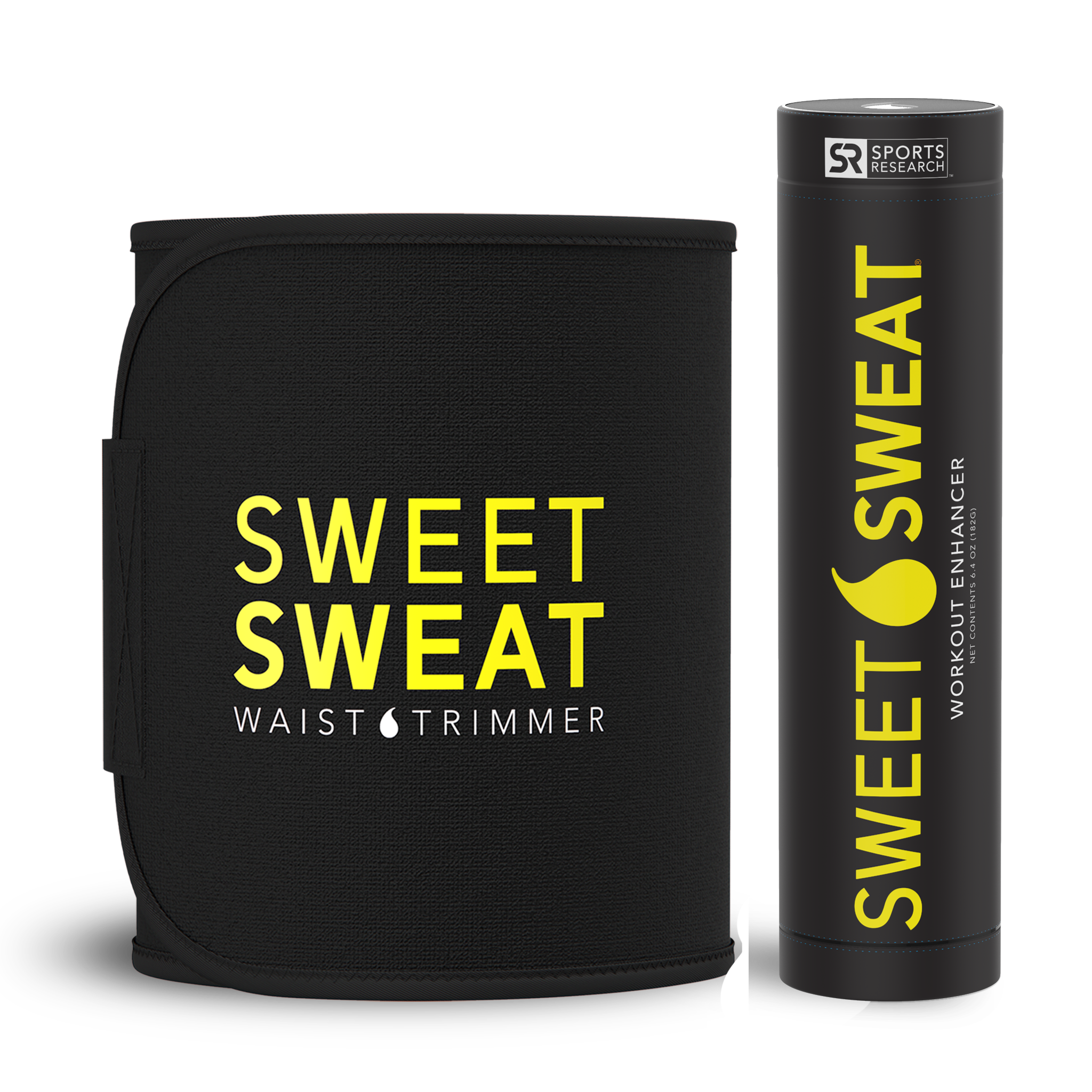Комплект мазь Sweet Sweat Stick Original (182 гр.) и термопояс Sweet Sweat на талию