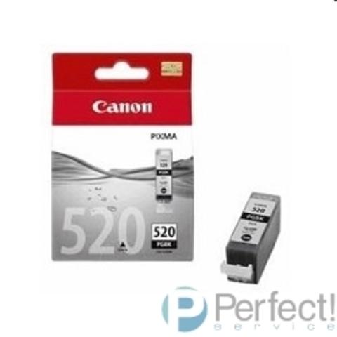 Canon PGI-520Bk 2932B004 Картридж для IP3600, IP4600, MP540, MP620, MP630, MP980, Черный, 330стр.