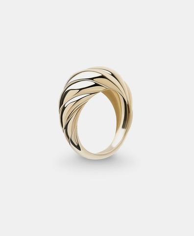 Кольцо Riviera gold