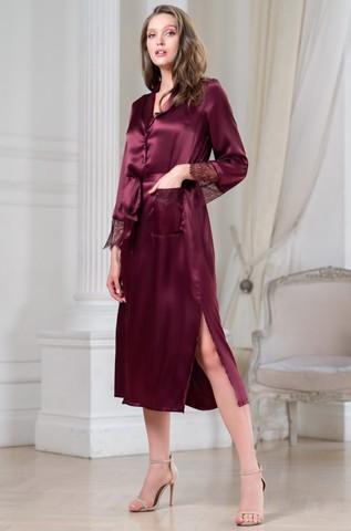 Длинный халат на пуговицах MIA-Amore SHARON ШЕРОН 3809