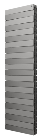 Радиатор Royal Thermo PianoForte Tower/Silver Satin - 22 секции
