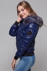 Куртка на холлофайбере с капюшоном купить