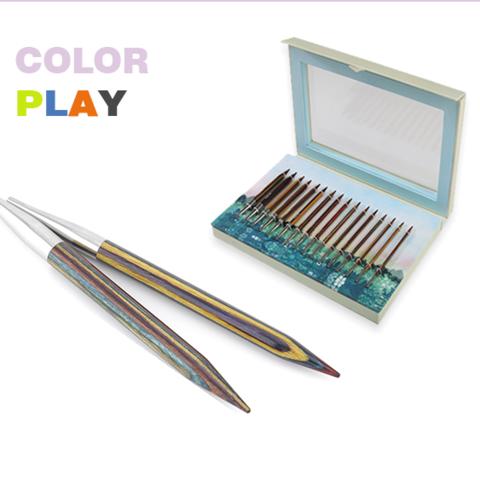 KnitPro Набор съемных спиц Color Play Deluxe Set 20625