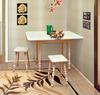 Стол обеденный раздвижной (массив/пластик) , Фант-мебель