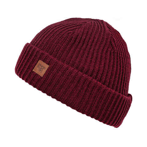 Шапка Horsefeathers AGAIN BEANIE (raisin)