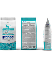 Monge Cat Monoprotein Sterilised Merluzzo Сухой корм для стерилизованных кошек с треской