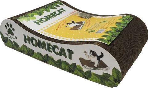 Homecat когтеточка Мятная волна малая 41x24x10см