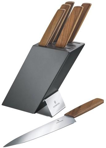 Набор ножей Victorinox, 6 предметов, в подставке