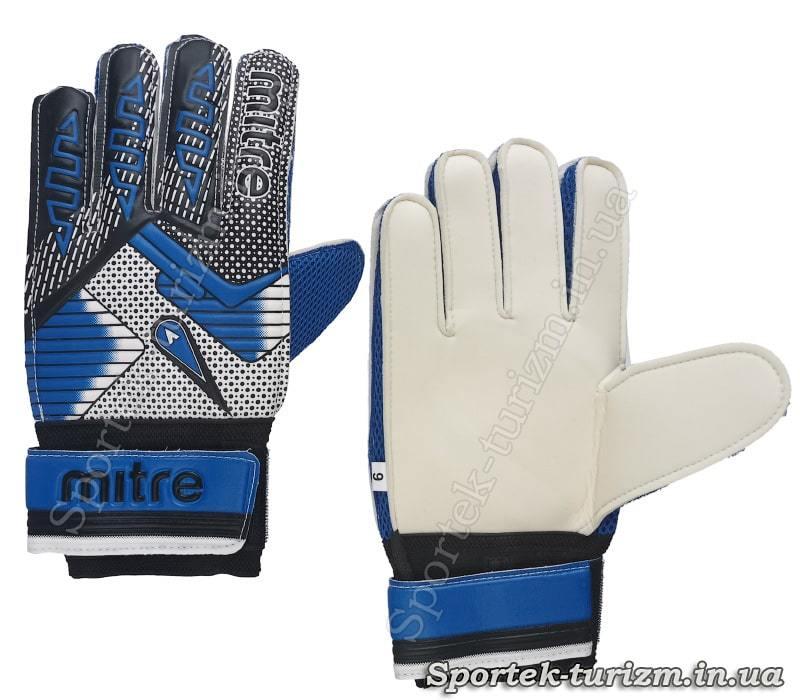 Перчатки для футбольного вратаря Mitre (PVC, размер 9)