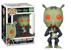 FUNKO-POP! ANIMATION: RICK & MORTY-CORNVELIOUS DANIEL
