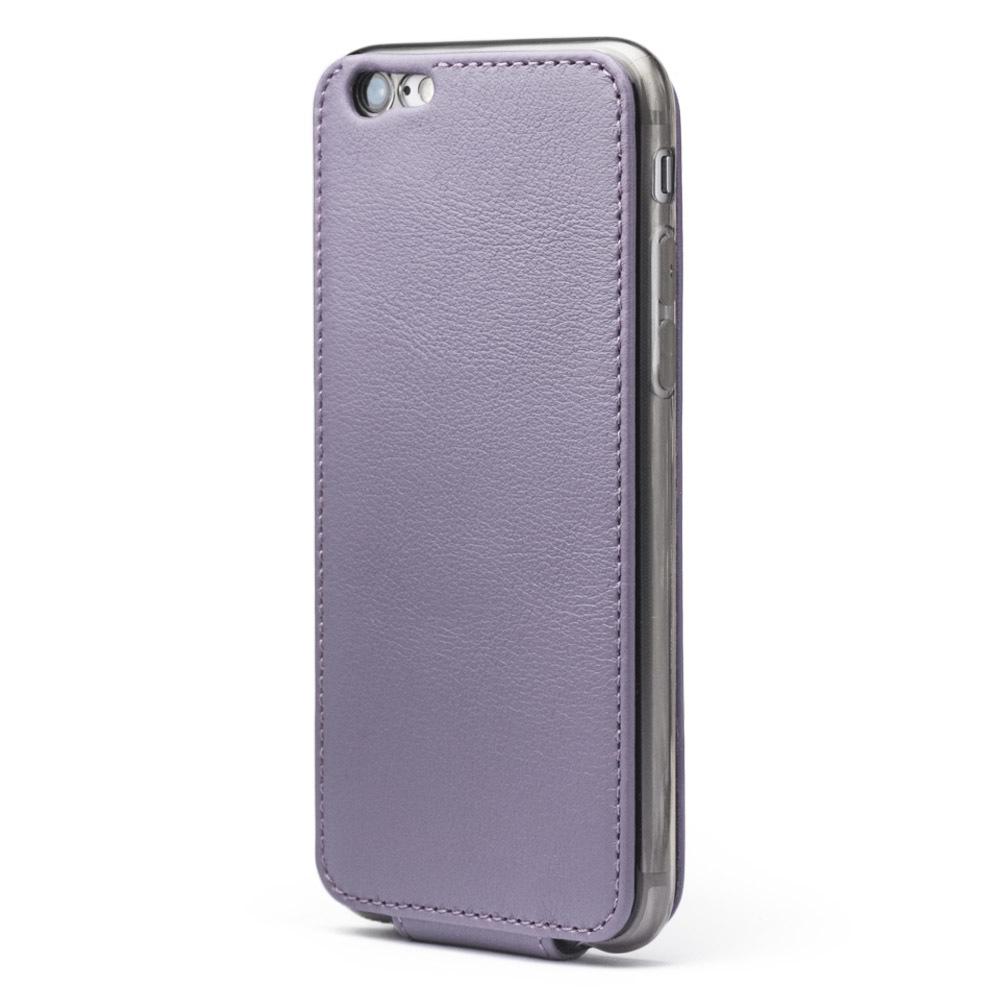 Чехол для iPhone 6/6S Plus из натуральной кожи теленка, фиолетового цвета