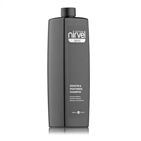Nirvel Keratin&Panthenol Shampoo 1000 ml