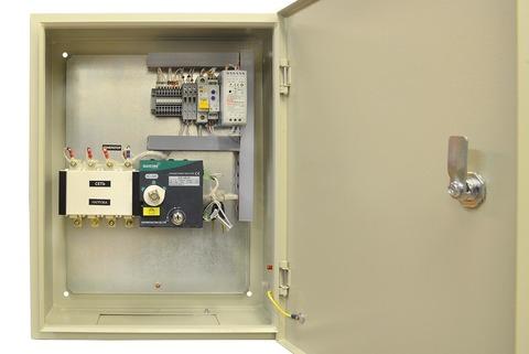 Блок АВР 8-24 кВт СТАНДАРТ (63А, РКН)