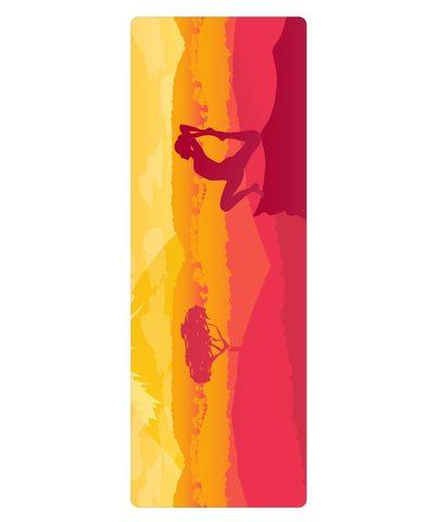 Коврик для йоги из ПВХ Photo design 183*61*0,4 см