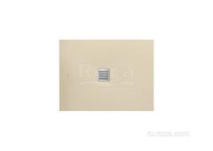 TERRAN Душевой поддон 1000X700 с сифоном и решеткой кремовый  Roca AP013E82BC01500 фото