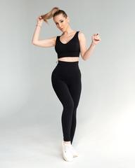 Женские лосины Lion gym classic basic ultrablack