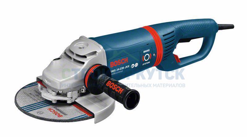 Шлифовальные машины Угловая шлифмашина Bosch GWS 24-230 JVX (0601864504) 12776a89b020efb54a0ea08fb8cccb6e