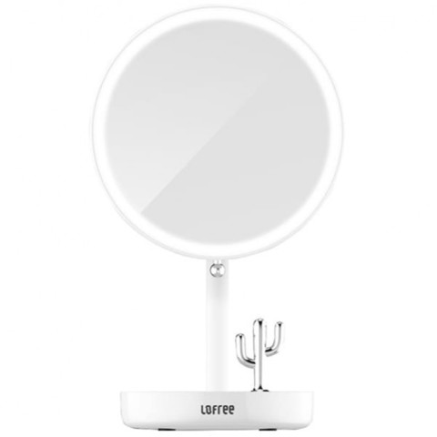 Зеркало косметическое настольное Lofree Morning Light LED Beauty Mirror White (Белый)