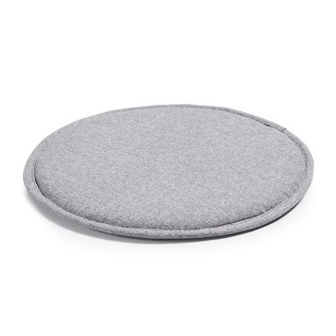 Подушка Stick круглая светло-серая