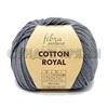 Пряжа Fibranatura Cotton Royal 18-724 (Серый)