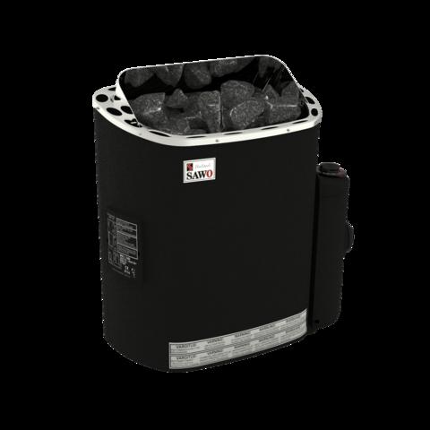 Электрическая печь SAWO SCANDIA SCA-90NB-P-F (9 кВт, встроенный пульт, нержавейка, термопокрытие)
