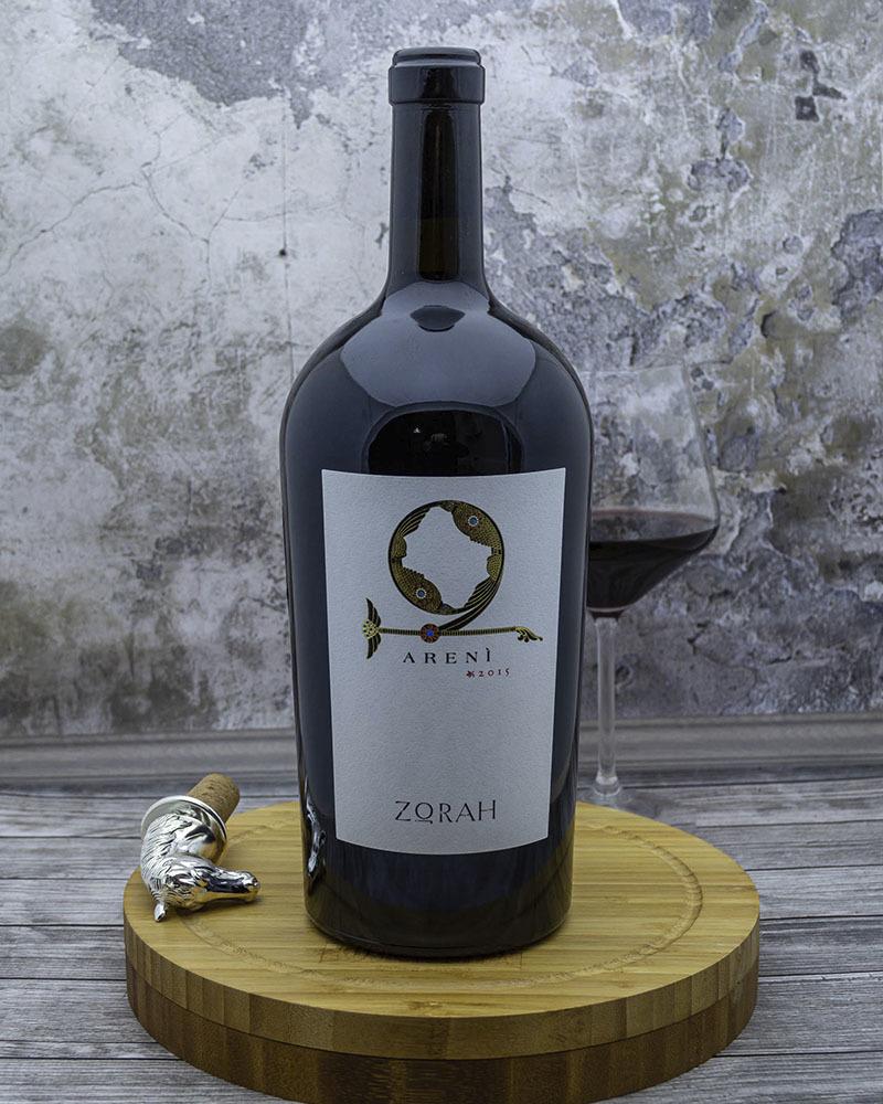 Вино Zorah Арени Красное Сухое 2015 г.у. 13,5% 1,5 л.